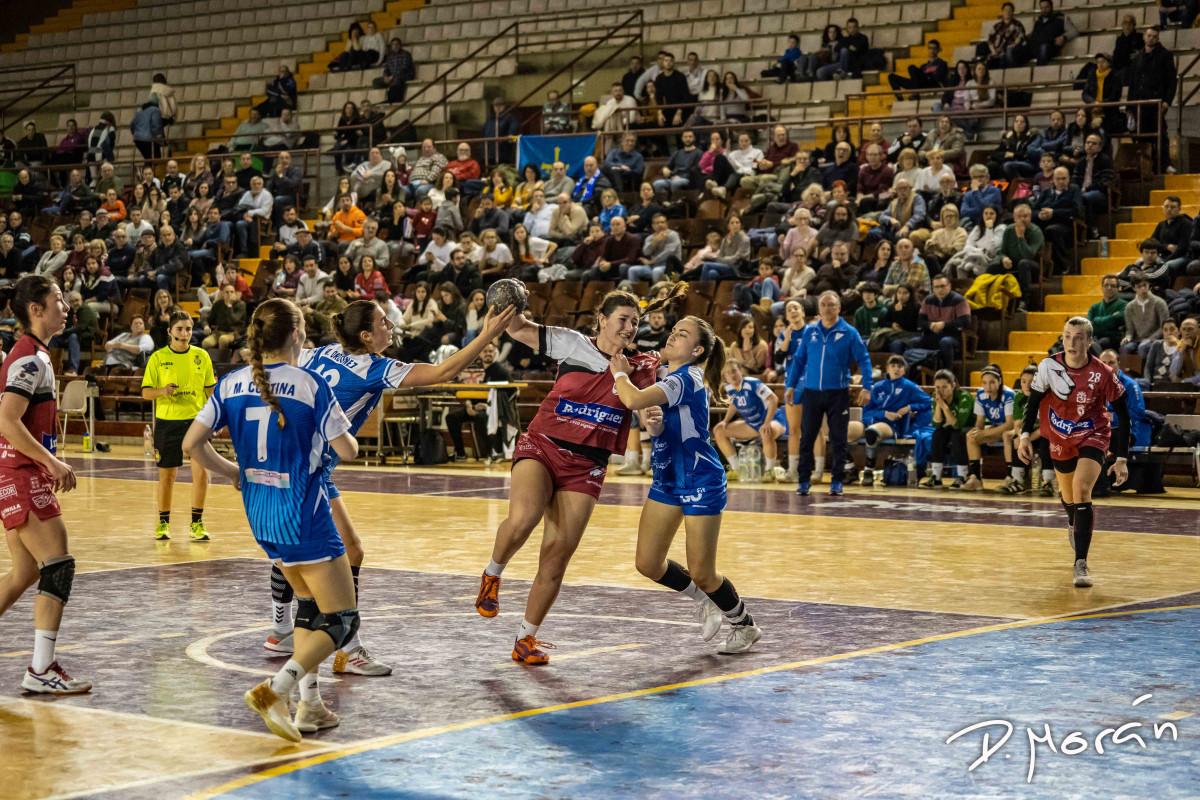 Rodríguez Cleba 23 - 28 Oviedo Balonmano Femenino